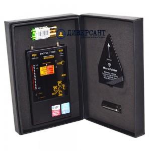 Професионален детектор на всички видове подслушвателни и подслушватели и проследяващи устройства Protect 2