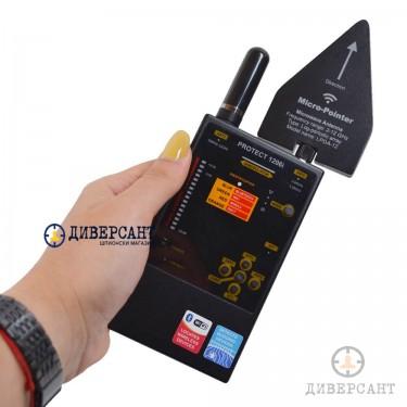 Професионален детектор на всички видове подслушвателни и подслушватели и проследяващи устройства Protect