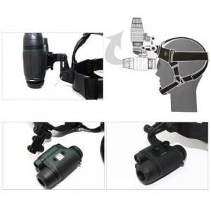 Комплект за нощно виждане YUKON монокъл и челник 2