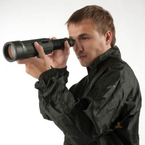 Сгъваем широкоъгълен шпионски телескоп Yukon Scout