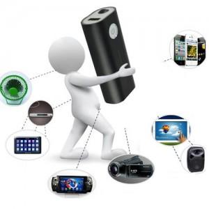 Портативна презареждаема батерия с аудио рекордер 2