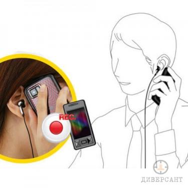 Външен микрофон за запис на мобилни разговори