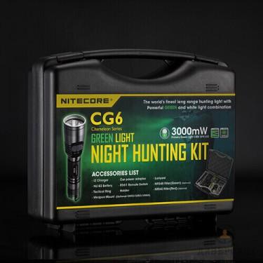 Ловен комплект фенер с аксесоари Nitecore