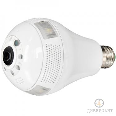 360 градуса IP WiFI камера скрита в крушка