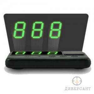Универсален холограмен GPS HUD скоростомер с дисплей