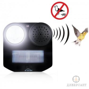 Силен птицегон с детектор за движение и светлина