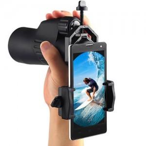 Универсална стойка за смартфон свързан към оптични уреди 2