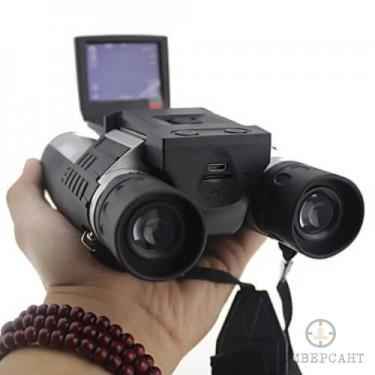 Дигитална камера в бинокъл
