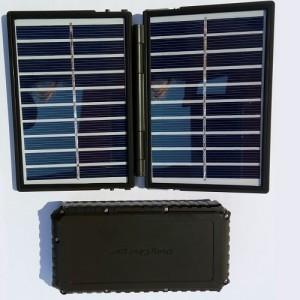 Соларен панел с power bank батерия за ловни камери 2