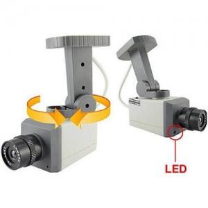 Реалистична бутафорна камера с датчик за движение 2