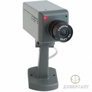 Реалистична бутафорна камера с датчик за движение