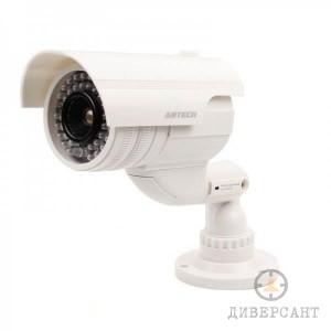 Бутафорна камера с мигаща LED светлина и водоустойчив корпус