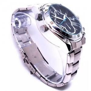Ръчен часовник с метална верижка и камера 2