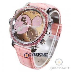 Стилен дамски часовник със скрита камера