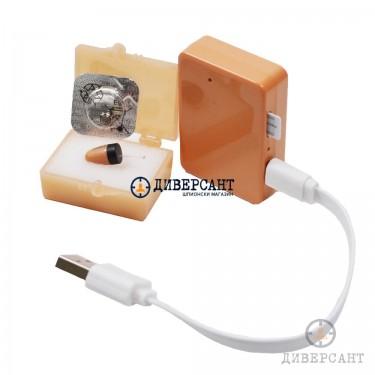 Микрослушалка и GSM-приемник с обновена технология