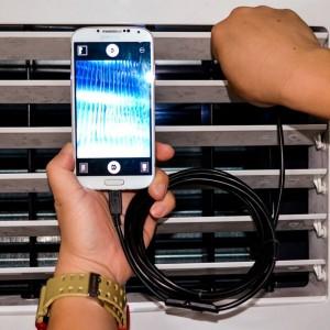 Бюджетен водоустойчив ендоскоп с 5 мм. камера за Андроид устройства 2