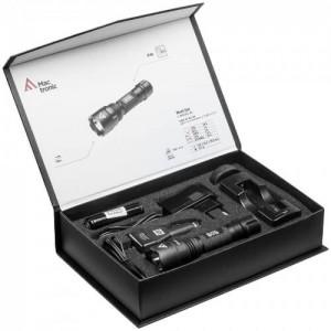 Мощен фенер 420 лумена с презареждаема батерия MACTRONIC Black Eye 2