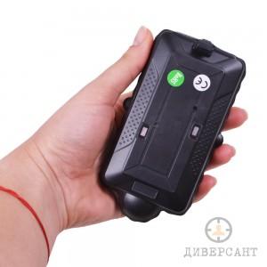 Водоустойчив магнитен GPS тракер и логър с GSM+GPS+WIFI позициониране