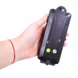 Магнитен и водоустойчив 3G тракер със сензор срещу падане, функция за слушане и 10 000 mAh батерия