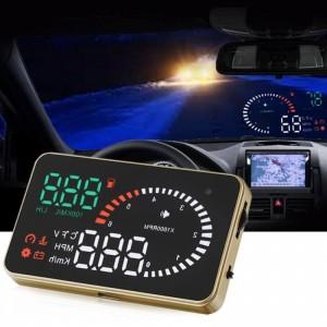 Дигитален скоростомер с цветен HD дисплей и OBDII букса за връзка 2