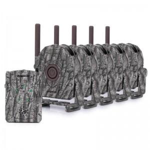 Безжична ловно-охранителна алармена система с приемник и 5 отделни PIR датчика 2