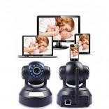 Дигитален видео бебефон с HD IP камера въртяща се с нощно виждане