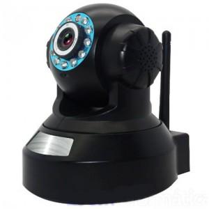 Дигитален видео бебефон с HD IP камера въртяща се с нощно виждане 2