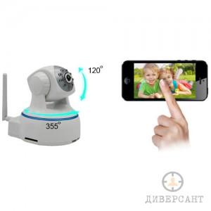Видео бебефон с висококачествена FullHD IP 355 градусова камера с нощно виждане
