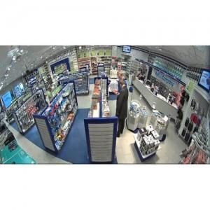 DAHUA 5 MegaPixel Fisheye IP панорамна удароустойчива куполна камера 2