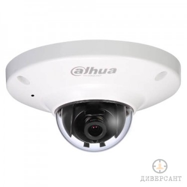 Моторизирана водоустойчива удароустойчива 1.3 мегапикселова IP куполна видеокамера с вграден микрофон и карта памет DAHUA
