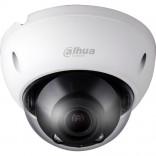 Вандалоустойчива водоустойчива куполна IP видеокамера 3 мегапиксела с нощно виждане DAHUA