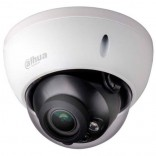 Удароустойчива водоустойчива инфрачервена куполна IP видеокамера 2 мегапиксела с интелигентни функции DAHUA
