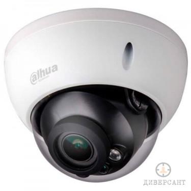 Удароустойчива водоустойчива инфрачервена куполна видеокамера 2 мегапиксела DAHUA