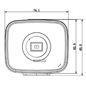 5-мегапикселова бокс IP видеокамера с интелигентни функции и вграден микрофон DAHUA 2
