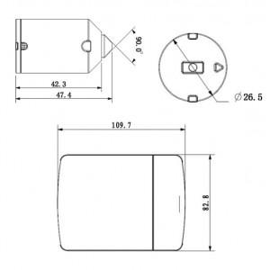 1.3MP HD IP ATM Скрита камера за видеонаблюдение 2