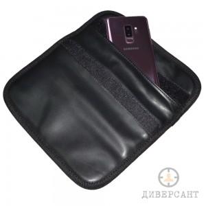 Заглушаващ кожен калъф за таблет, телефон, кредитни карти и ключове