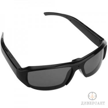 HD мини скрита камера в слънчеви очила за дискретно видеозасмемане