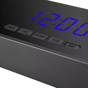 Мини скрита камера в настолен будилник с PIR сензор 2