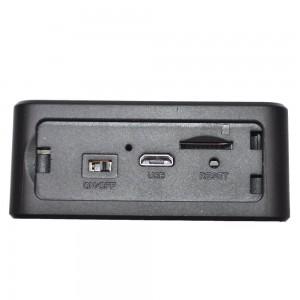Скрита камера черна кутия с PIR сензор 2