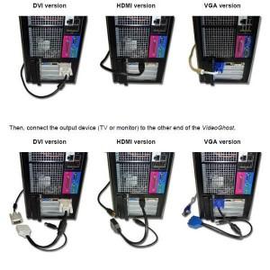 Екранен скрийн логър HDMI 4GB черен 2