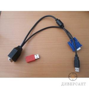 Екранен видео логър с VGA накрайник