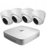 DAHUA HDCVI комплект за видеонаблюдение - 4 HD камери с нощно виждане и DVR редкордер