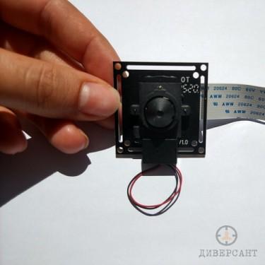 Професионален 2MP обектив DIY мини скрита камера модул за вграждане