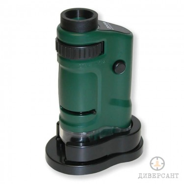 Детски джобен LED микроскоп MicroBrite 20x-40x увеличение на Carson