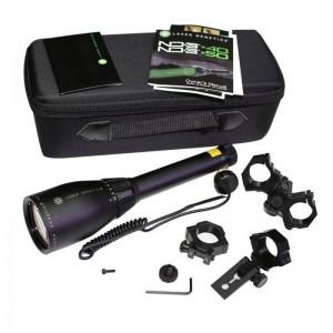 Зелен колиматор лазерен фенер за лов заместващ нощно виждане на оптика 2