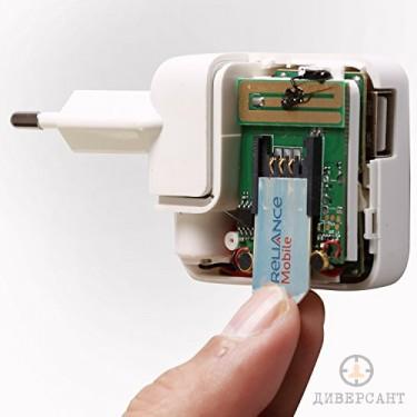 Професионален GSM подслушвател скрит в USB заряден адаптер