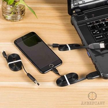 Подслушвателно устройство в заряден кабел за iPhone