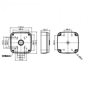 Разпределителна кутия за камери DAHUA за видеонаблюдение 2