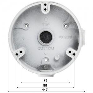 Водоустойчива предпазна разпределителна кутия Dahua 2