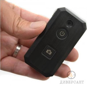 Джобна професионална мини камера за носене на дреха или в ръка с жично дистанционно